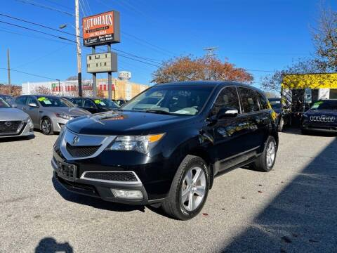 2010 Acura MDX for sale at Autohaus of Greensboro in Greensboro NC