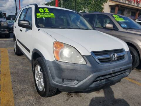2002 Honda CR-V for sale at USA Auto Brokers in Houston TX