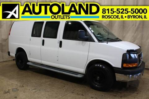 2018 GMC Savana Cargo for sale at AutoLand Outlets Inc in Roscoe IL