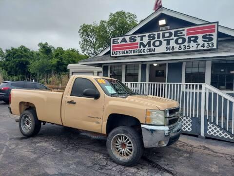 2008 Chevrolet Silverado 2500HD for sale at EASTSIDE MOTORS in Tulsa OK