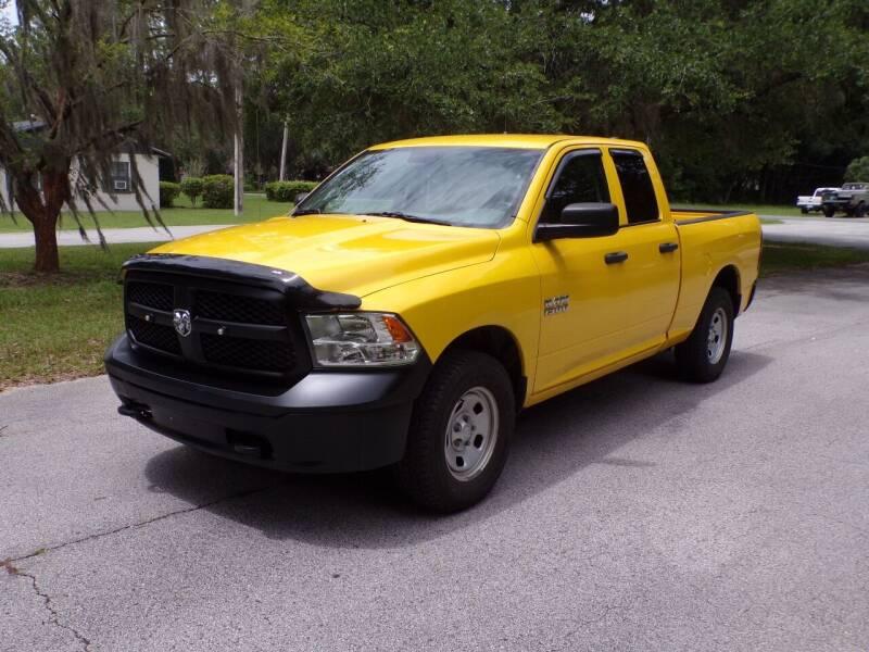 2016 RAM Ram Pickup 1500 for sale at LANCASTER'S AUTO SALES INC in Fruitland Park FL