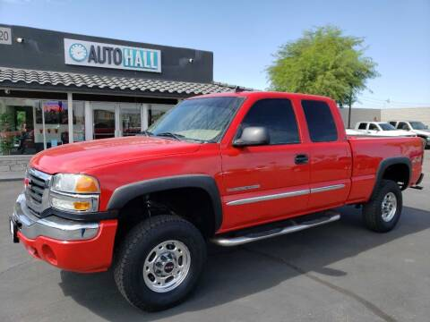 2006 GMC Sierra 2500HD for sale at Auto Hall in Chandler AZ