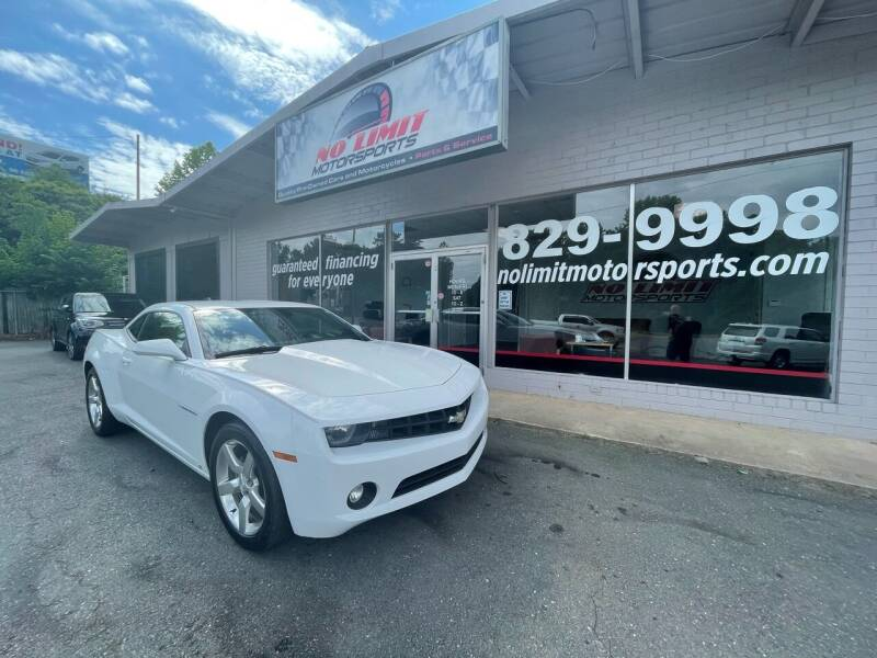 2010 Chevrolet Camaro for sale at NO LIMIT MOTORSPORTS in Belmont NC