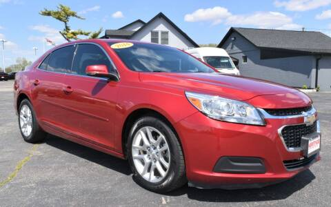 2014 Chevrolet Malibu for sale at Heritage Automotive Sales in Columbus in Columbus IN