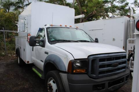 2007 Ford F-450 Super Duty for sale at Truck and Van Outlet in Miami FL
