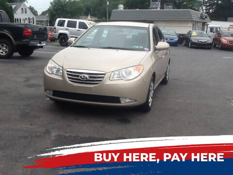 2010 Hyundai Elantra for sale at Lancaster Auto Detail & Auto Sales in Lancaster PA