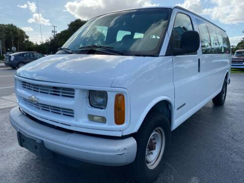 2002 Chevrolet Express Passenger for sale at KD's Auto Sales in Pompano Beach FL