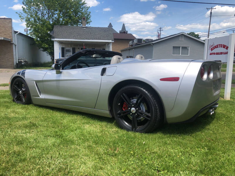2007 Chevrolet Corvette for sale at Jim's Hometown Auto Sales LLC in Byesville OH