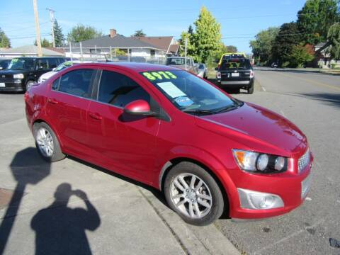 2013 Chevrolet Sonic for sale at Car Link Auto Sales LLC in Marysville WA