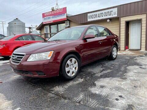 2009 Hyundai Sonata for sale at WINDOM AUTO OUTLET LLC in Windom MN