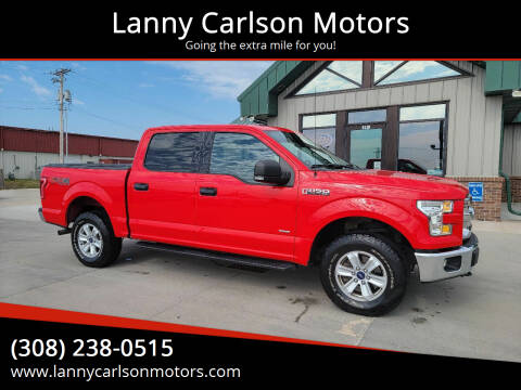 2016 Ford F-150 for sale at Lanny Carlson Motors in Kearney NE