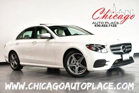 2017 Mercedes-Benz E-Class for sale at Chicago Auto Place in Bensenville IL