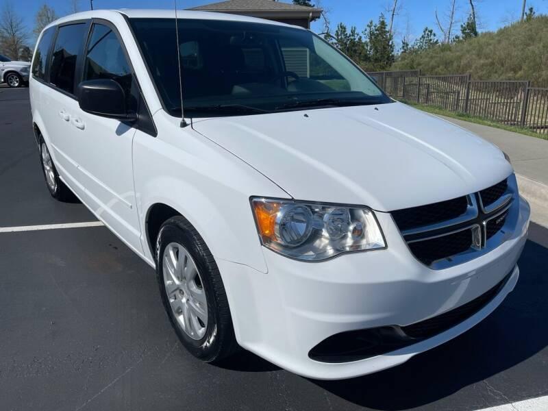 2016 Dodge Grand Caravan for sale at LA 12 Motors in Durham NC