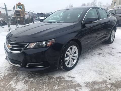 2018 Chevrolet Impala for sale at SUNSET CURVE AUTO PARTS INC in Weyauwega WI