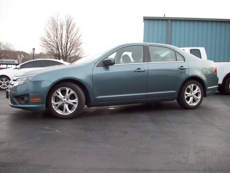 2012 Ford Fusion for sale at Whitney Motor CO in Merriam KS