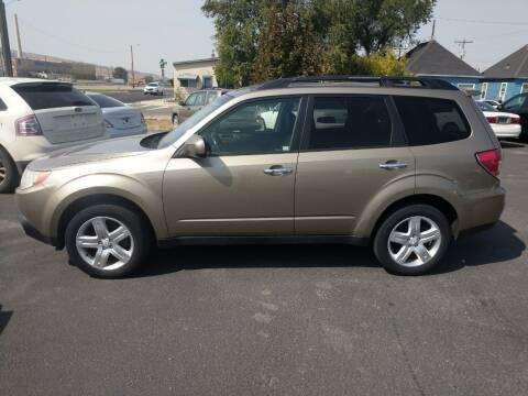 2009 Subaru Forester for sale at Creekside Auto Sales in Pocatello ID