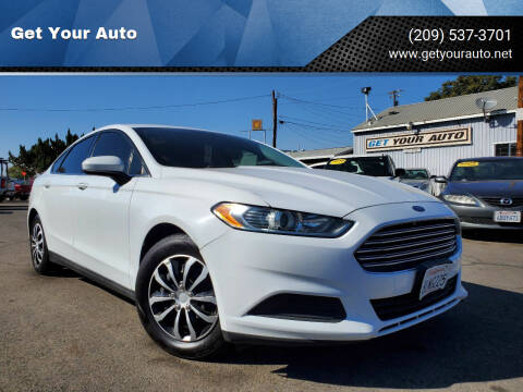 2014 Ford Fusion for sale at Get Your Auto in Ceres CA