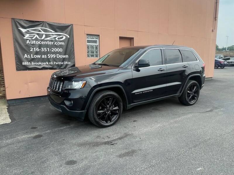 2013 Jeep Grand Cherokee for sale at ENZO AUTO in Parma OH