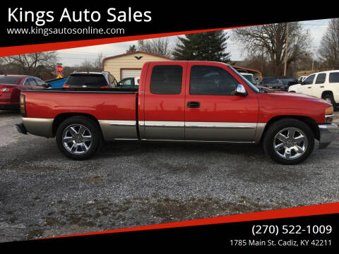 2000 GMC Sierra 1500 for sale at Kings Auto Sales in Cadiz KY