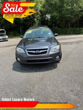 2008 Subaru Outback for sale at Select Luxury Motors in Cumming GA