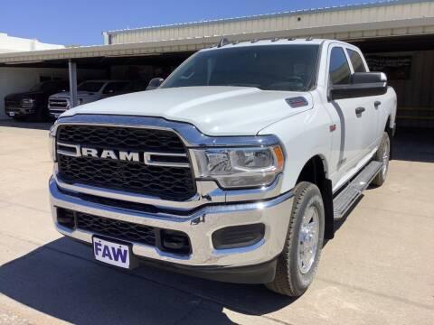 2021 RAM Ram Pickup 2500 for sale at Faw Motor Co - Faws Garage Inc. in Arapahoe NE