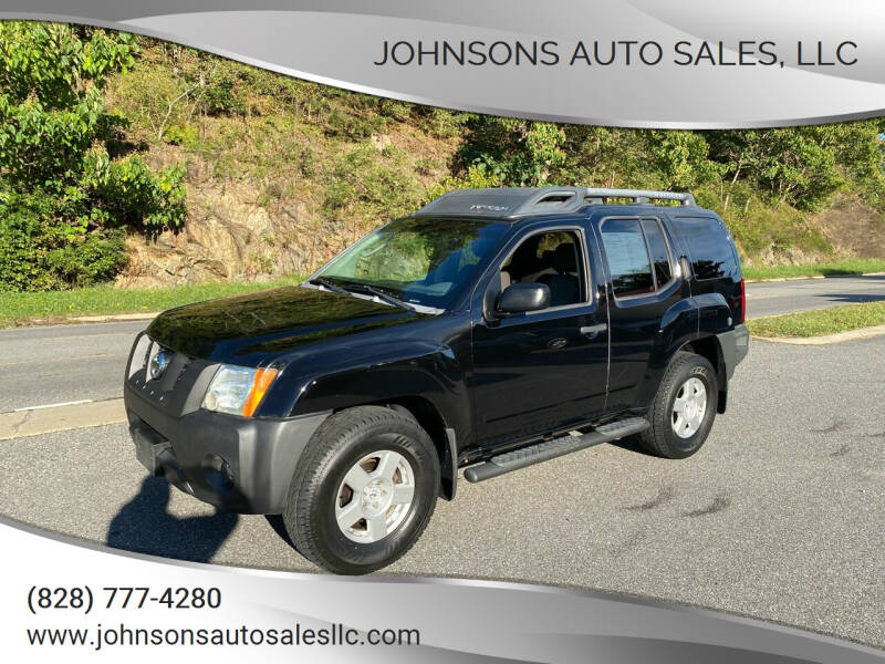 2008 Nissan Xterra for sale at Johnsons Auto Sales, LLC in Marshall NC