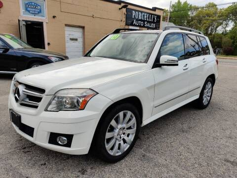 2012 Mercedes-Benz GLK for sale at Porcelli Auto Sales in West Warwick RI
