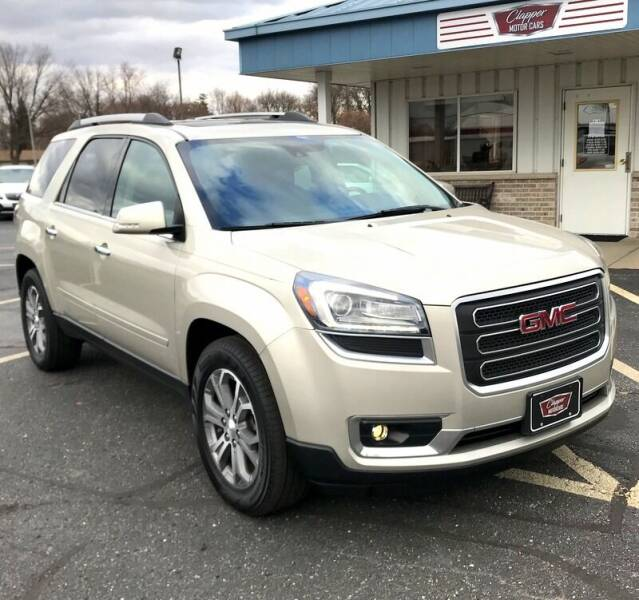 2016 GMC Acadia for sale at Clapper MotorCars in Janesville WI
