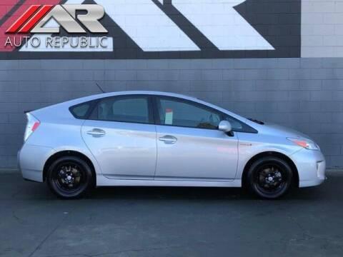 2012 Toyota Prius for sale at Auto Republic Fullerton in Fullerton CA