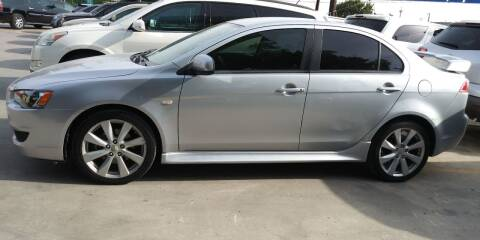 2013 Mitsubishi Lancer for sale at AUTOTEX FINANCIAL in San Antonio TX
