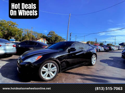 2010 Hyundai Genesis Coupe for sale at Hot Deals On Wheels in Tampa FL