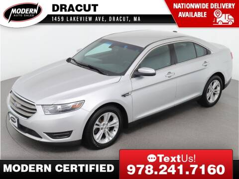 2017 Ford Taurus for sale at Modern Auto Sales in Tyngsboro MA