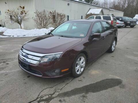 2012 Ford Fusion for sale at Pelham Auto Group in Pelham NH