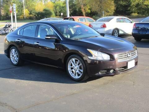 2010 Nissan Maxima for sale at Plainfield Auto Sales, LLC in Plainfield WI