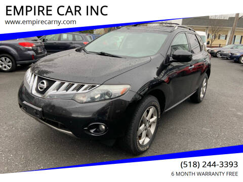 2010 Nissan Murano for sale at EMPIRE CAR INC in Troy NY