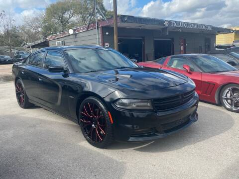 2016 Dodge Charger for sale at Texas Luxury Auto in Houston TX