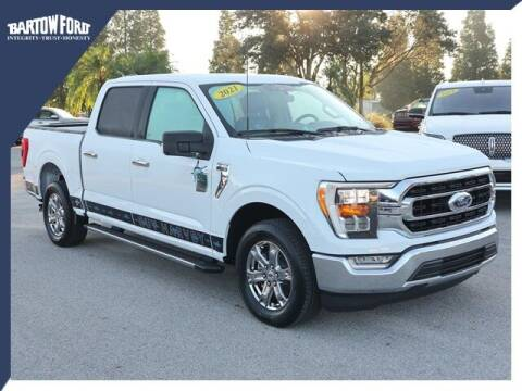 2021 Ford F-150 for sale at BARTOW FORD CO. in Bartow FL