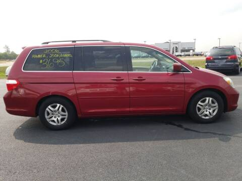 2006 Honda Odyssey for sale at Caps Cars Of Taylorville in Taylorville IL