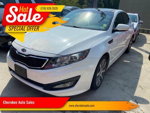 2012 Kia Optima for sale at Cherokee Auto Sales in Acworth GA