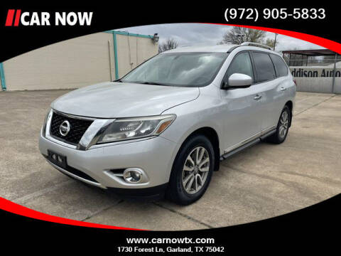 2015 Nissan Pathfinder for sale at Car Now in Dallas TX