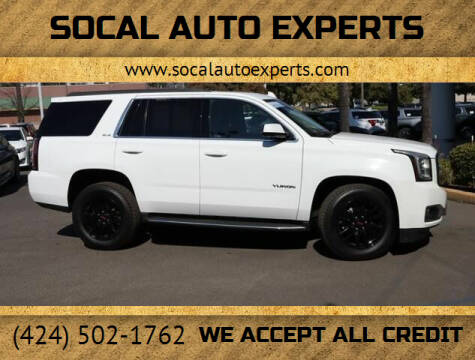 2017 GMC Yukon for sale at SoCal Auto Experts in Culver City CA