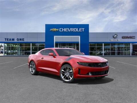 2022 Chevrolet Camaro for sale at TEAM ONE CHEVROLET BUICK GMC in Charlotte MI