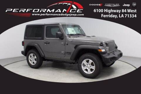 2021 Jeep Wrangler for sale at Performance Dodge Chrysler Jeep in Ferriday LA