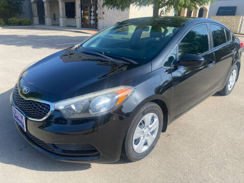2015 Kia Forte for sale at Ted's Auto Corporation in Richardson TX