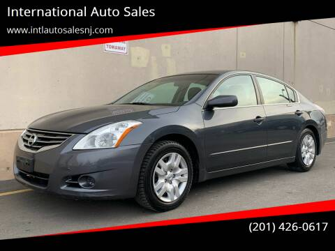 2011 Nissan Altima for sale at International Auto Sales in Hasbrouck Heights NJ