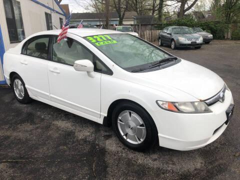 2007 Honda Civic for sale at Klein on Vine in Cincinnati OH