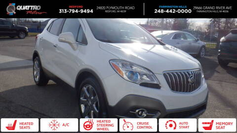 2014 Buick Encore for sale at Quattro Motors 2 - 1 in Redford MI