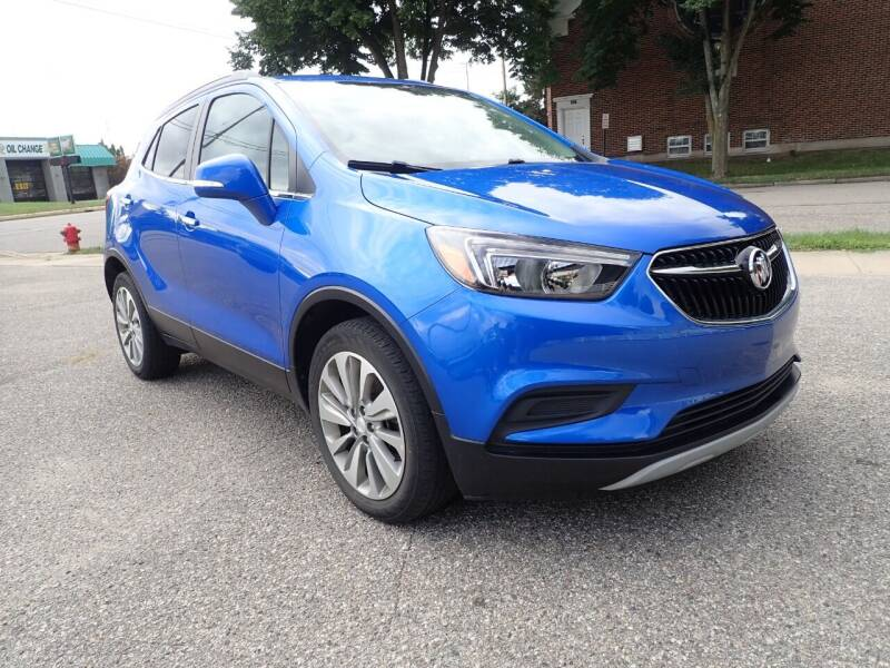 2017 Buick Encore for sale at Marvel Automotive Inc. in Big Rapids MI