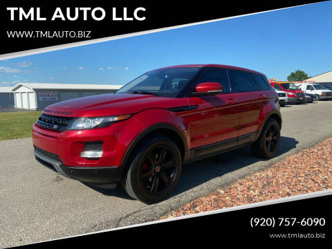 2012 Land Rover Range Rover Evoque for sale at TML AUTO LLC in Appleton WI