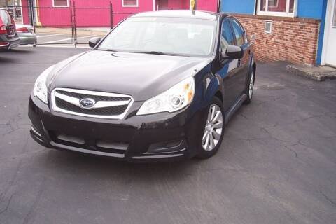 2010 Subaru Legacy for sale at BAR Auto Sales in Brockton MA